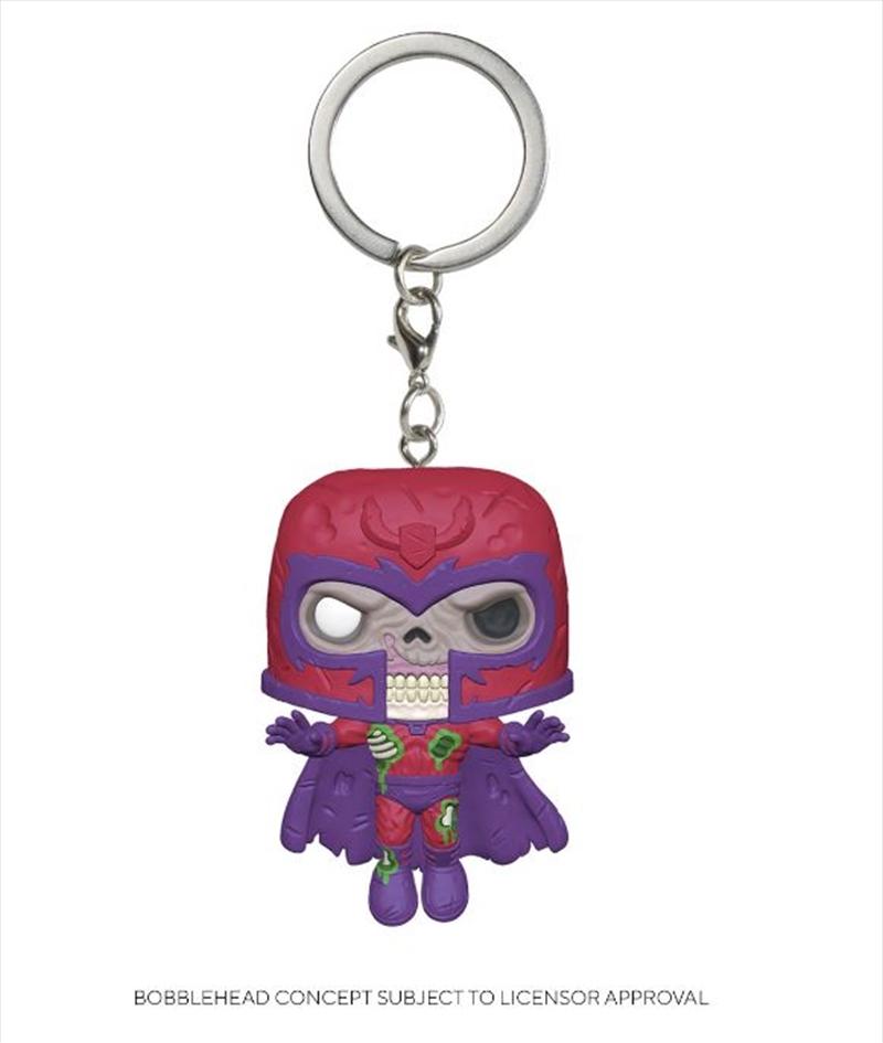 Marvel Zombies - Magneto Pop! Keychain | Pop Vinyl