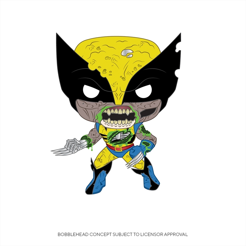 Marvel Zombies - Wolverine Pop! | Pop Vinyl