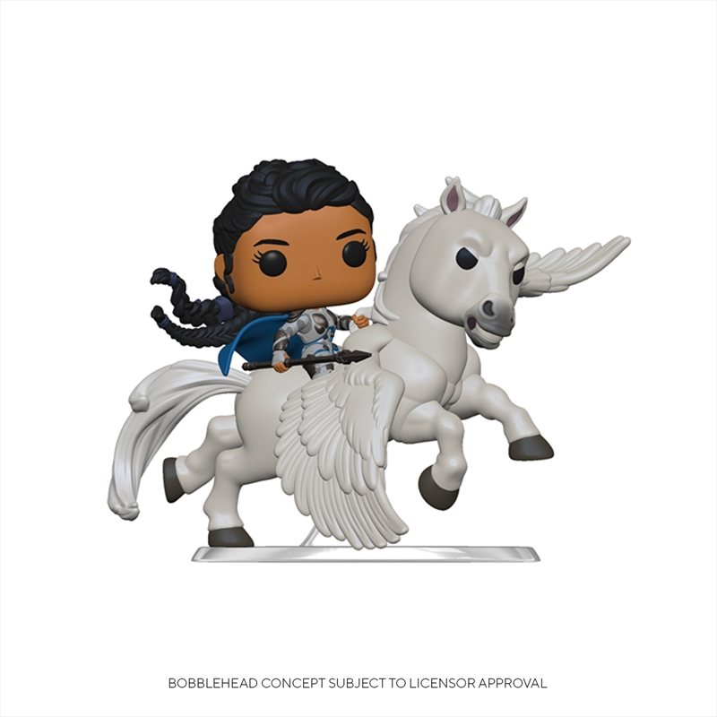 Avengers 4 - Valkyrie on Pegasus Pop! Ride | Pop Vinyl