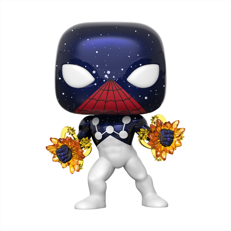 SpiderMan - SpiderMan Captain Universe Pop! RS | Pop Vinyl