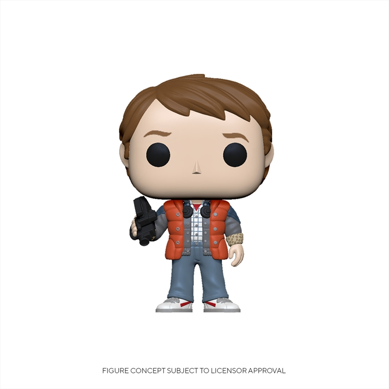 Back To The Future: Marty In Puffy Vest | Pop Vinyl