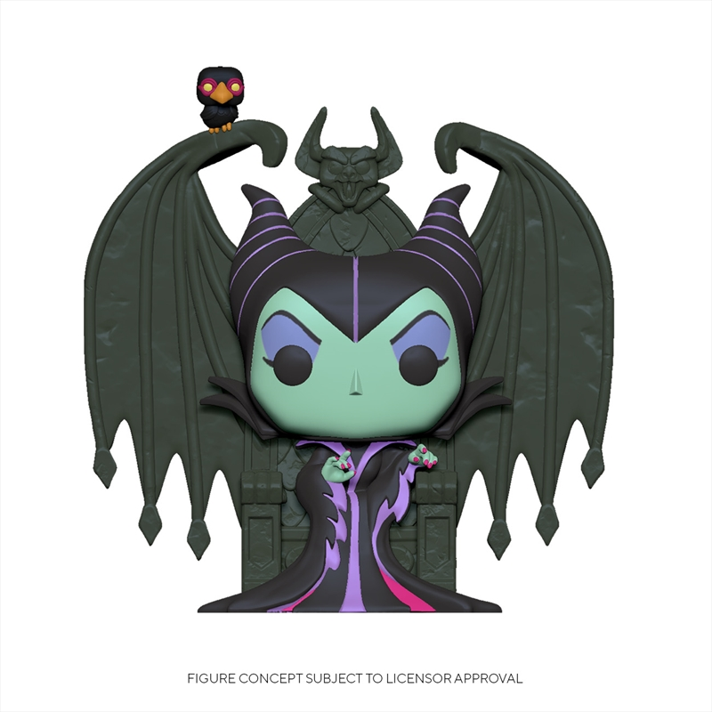 Sleeping Beauty - Maleficent on Throne Pop! Deluxe | Pop Vinyl