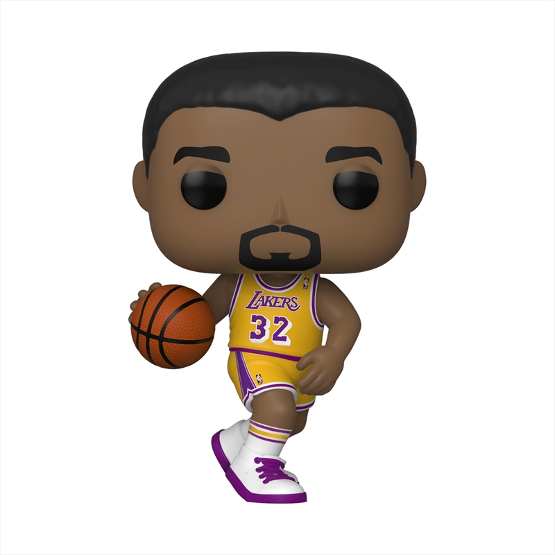 NBA Legends - Magic Johnson (Lakers Home) Pop! | Pop Vinyl