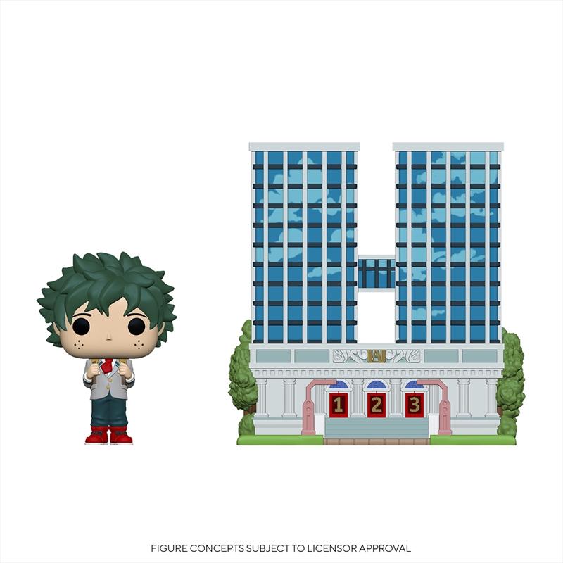 My Hero Academia - Deku w/UA High School Pop! Town   Pop Vinyl