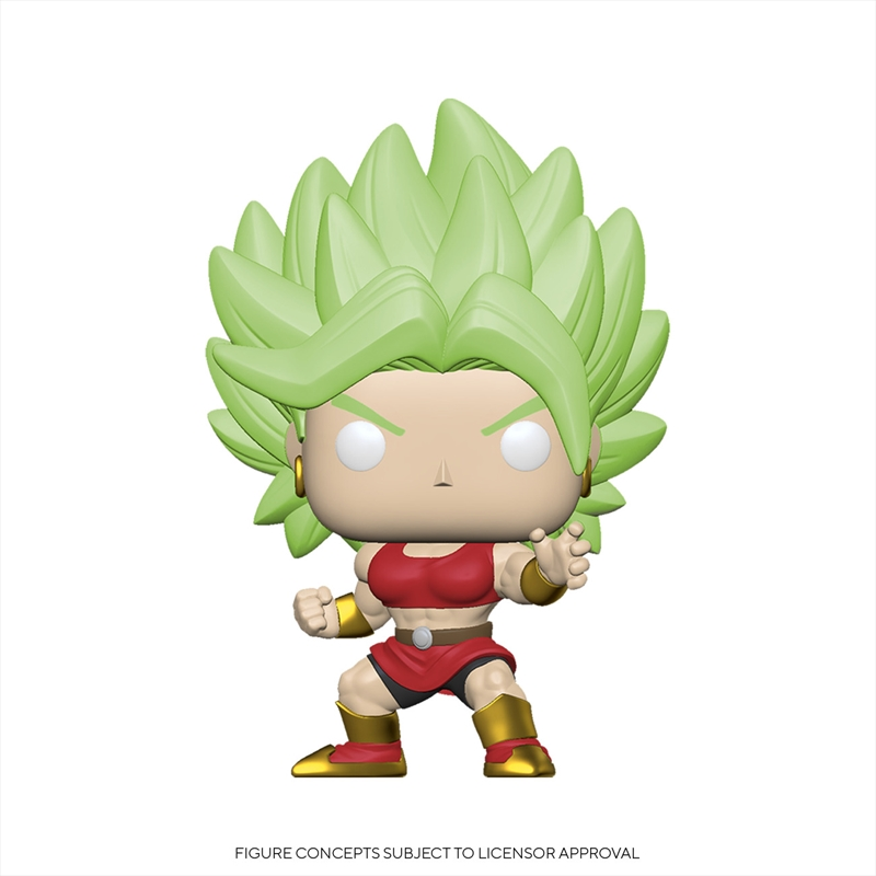 Dragon Ball Super - SS Kale Pop! | Pop Vinyl