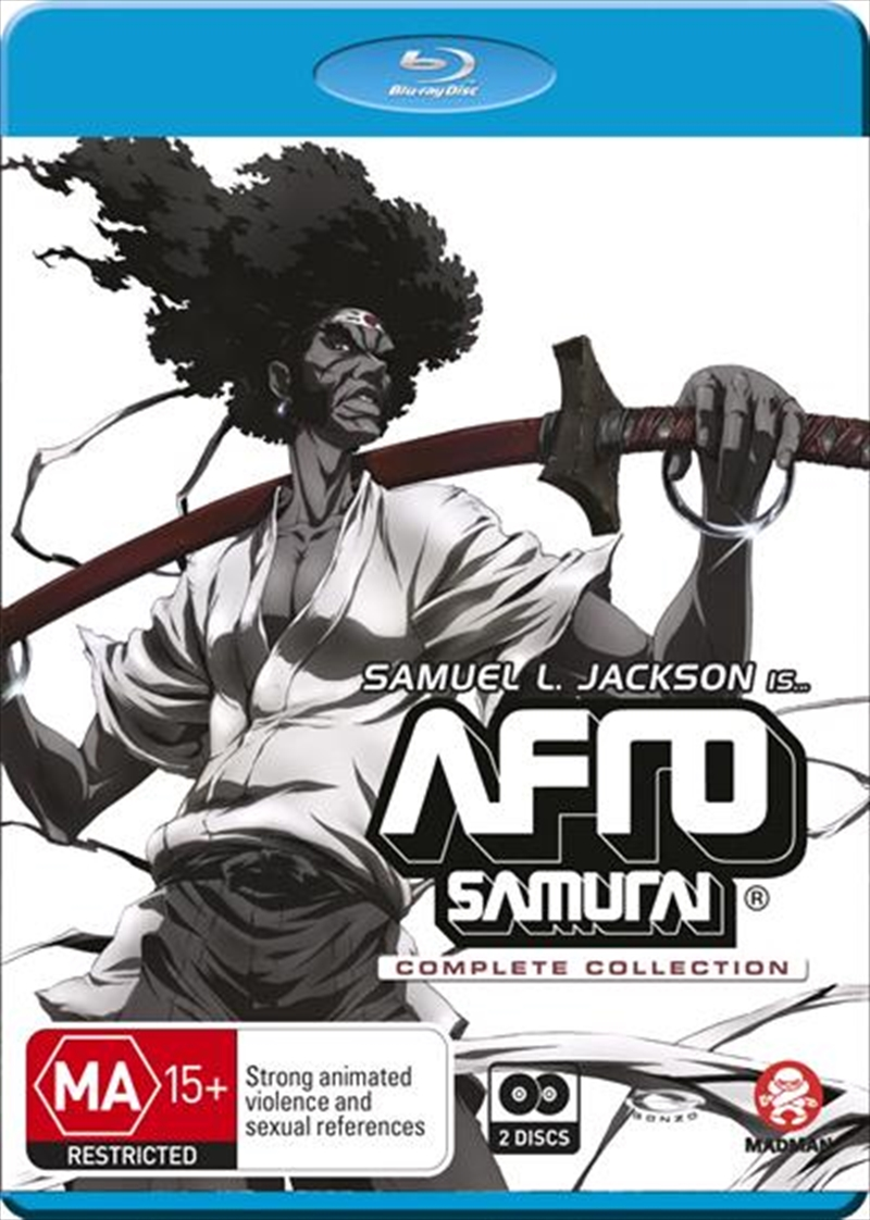 Afro Samurai   Complete Collection   Blu-ray