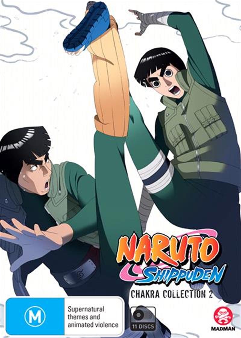 Naruto Shippuden Chakra - Collection 2 - Eps 72-140 | DVD
