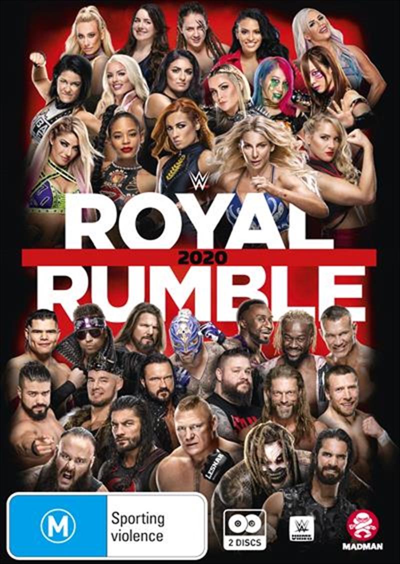 WWE - Royal Rumble 2020 | DVD