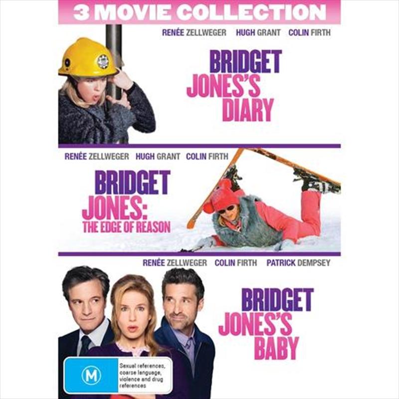 Bridget Jones's Diary / Bridget Jones's Diary - Edge Of Reason / Bridget Jones's Baby | DVD