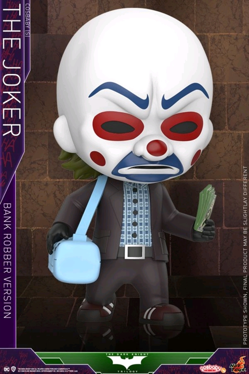 Batman: Dark Knight - Joker Bank Robber Cosbaby | Merchandise