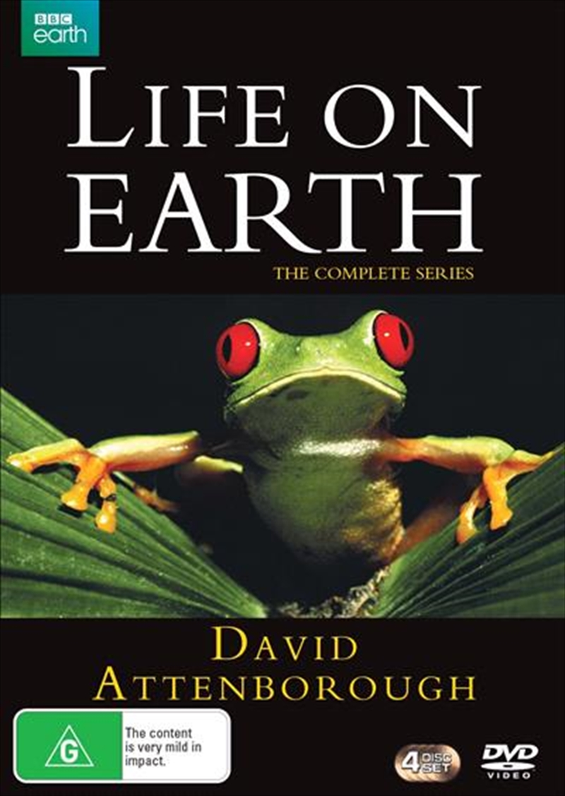 David Attenborough - Life On Earth | Complete Series | DVD