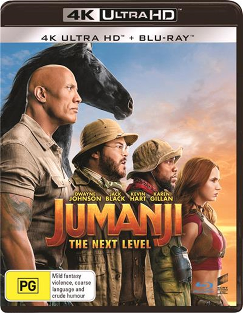 Jumanji - The Next Level | Blu-ray + UHD (BONUS COMPASS) | UHD