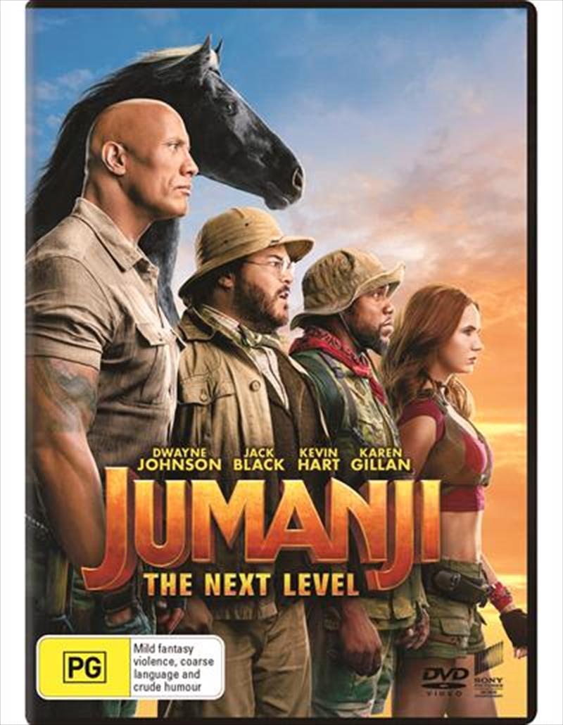 Jumanji - The Next Level | DVD