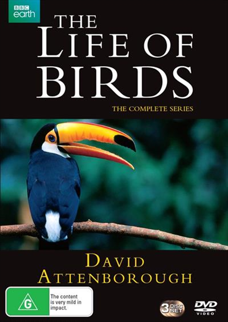 David Attenborough's The Life Of Birds | Complete Series | DVD