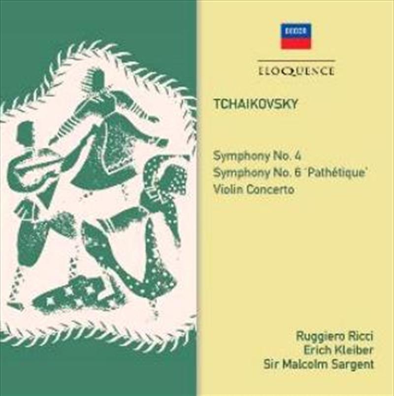 Tchaikovsky Symphonies 4 & 6 - Violin Concerto | CD