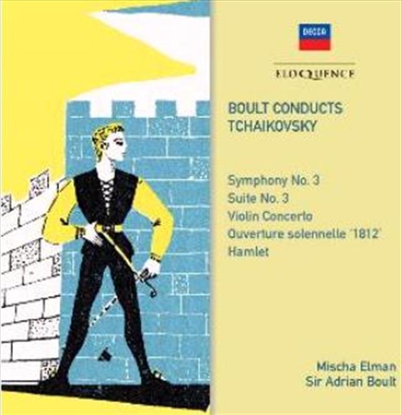 Tchaikovsky Symphony 3 - Violin Concerto | CD