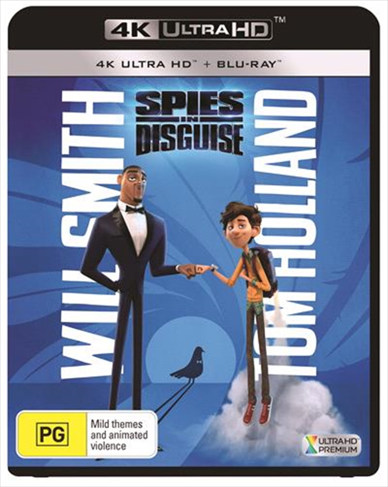 Spies In Disguise | Blu-ray + UHD | UHD