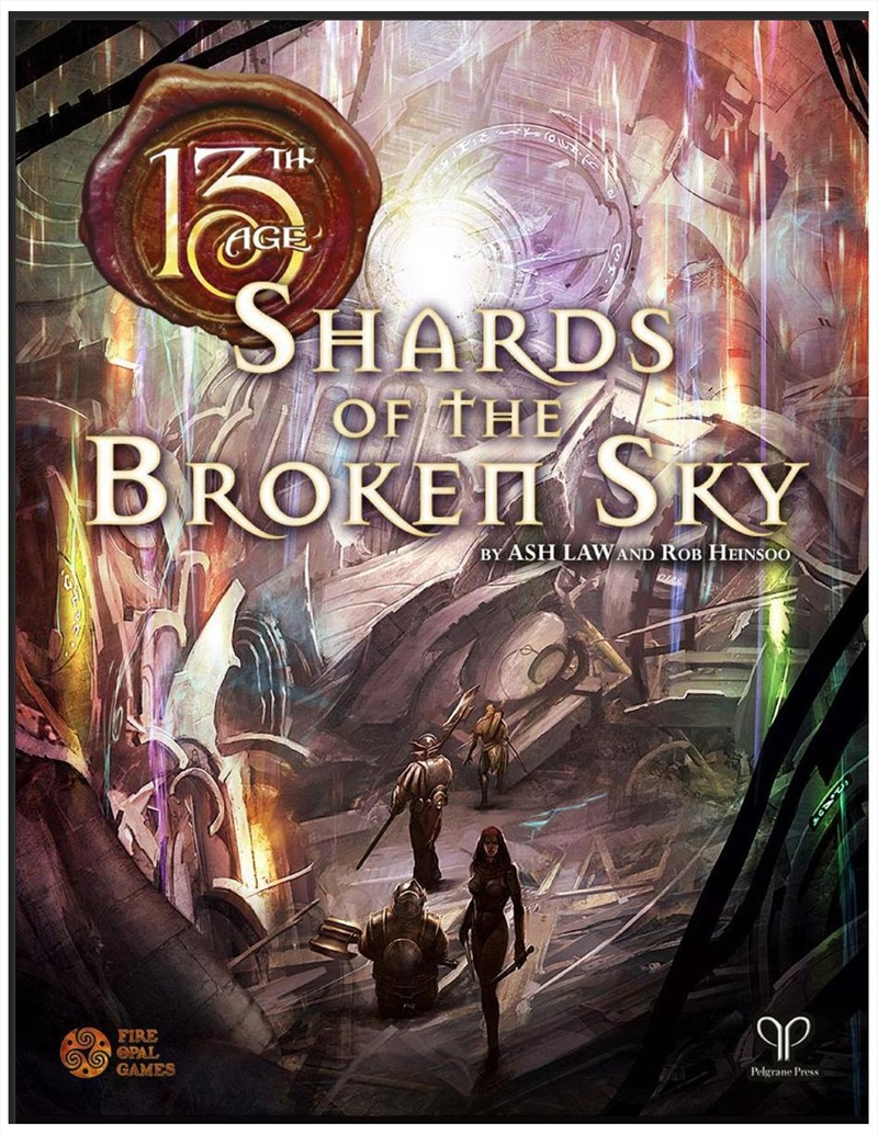13th Age RPG - Shards of the Broken Sky Adventure | Merchandise