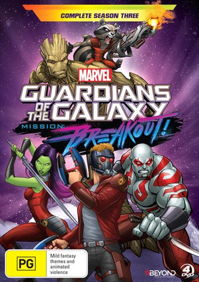 Guardians Of The Galaxy - Season 3 | DVD