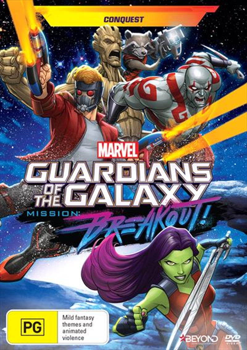 Guardians Of The Galaxy - Conquest | DVD