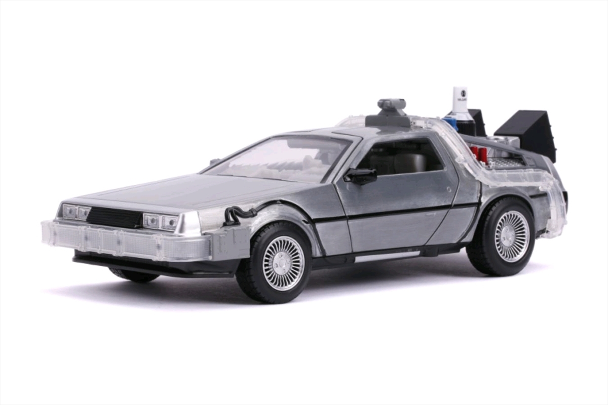Back to the Future 2 - Delorean 1:24 Scale Hollywood Ride | Merchandise