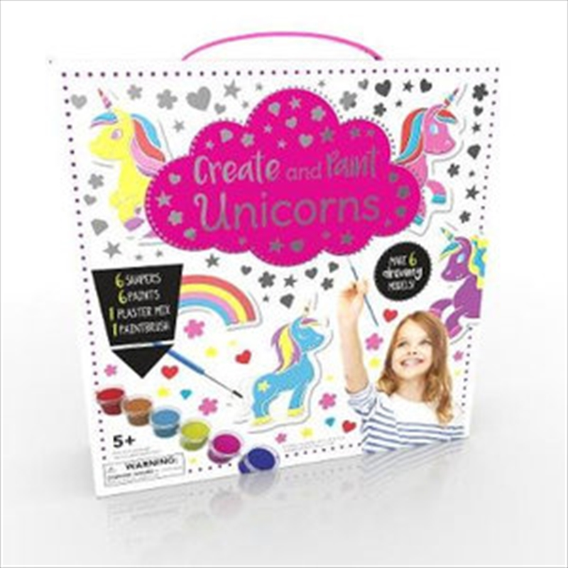 Cute & Creative Kits Make & Paint Unicorn Friends | Merchandise