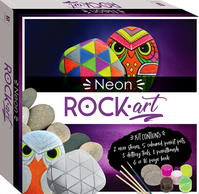 Neon Rock Art Mini Kit | Merchandise