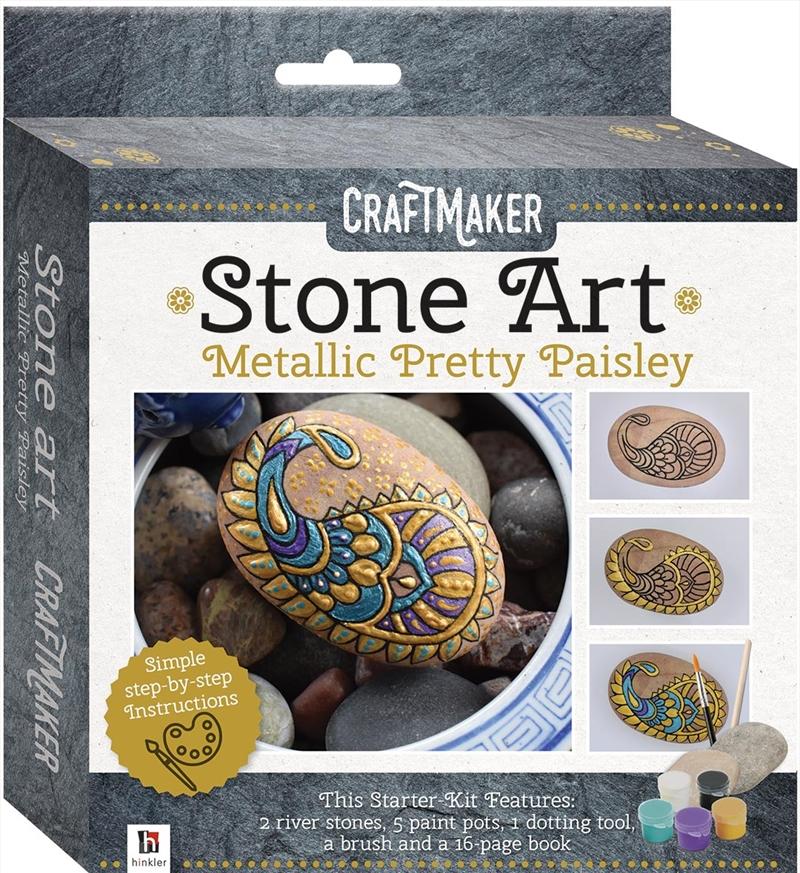 CraftMaker Metallic Rock: Pretty Paisley | Merchandise
