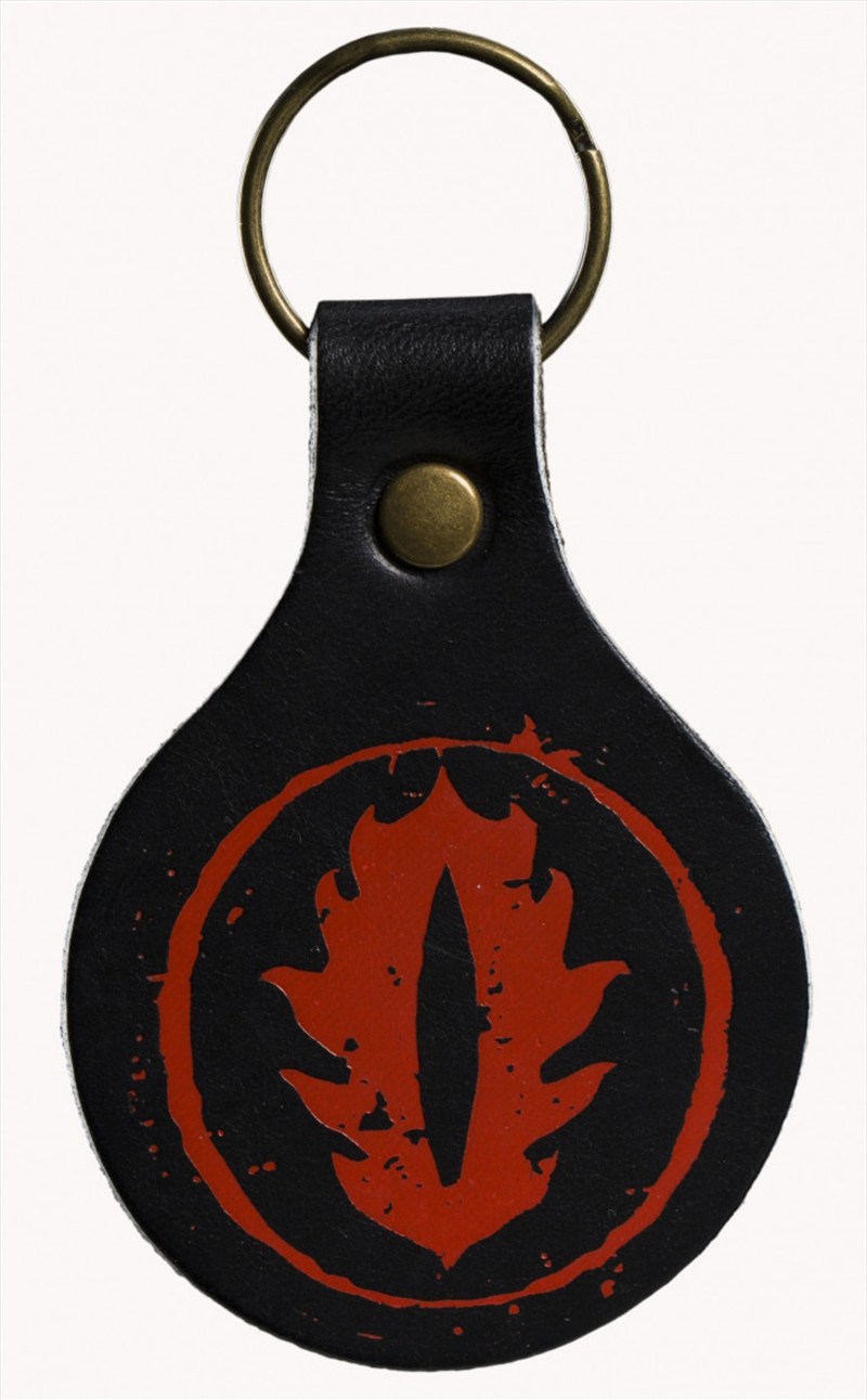 Lord of the Rings Leather Keyring Eye of Sauron | Accessories