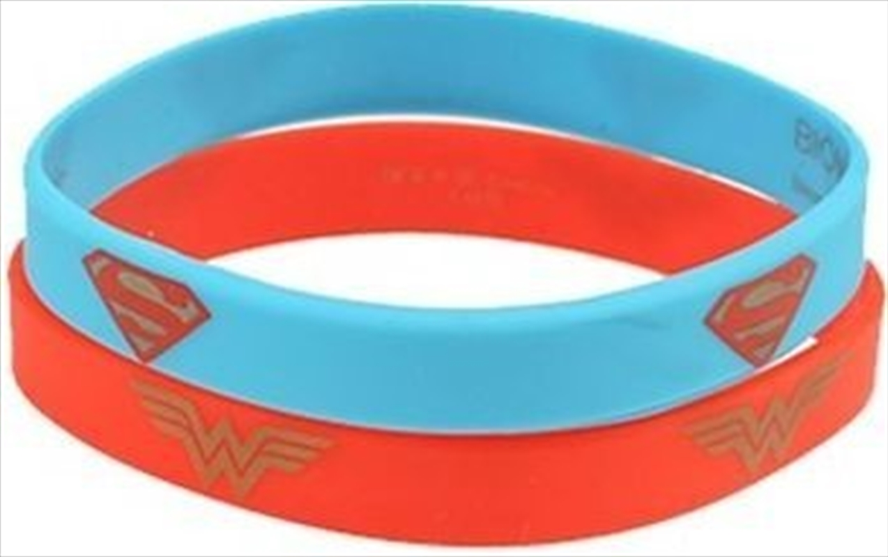 DC Comics Wonder Woman Superman Wristband | Apparel