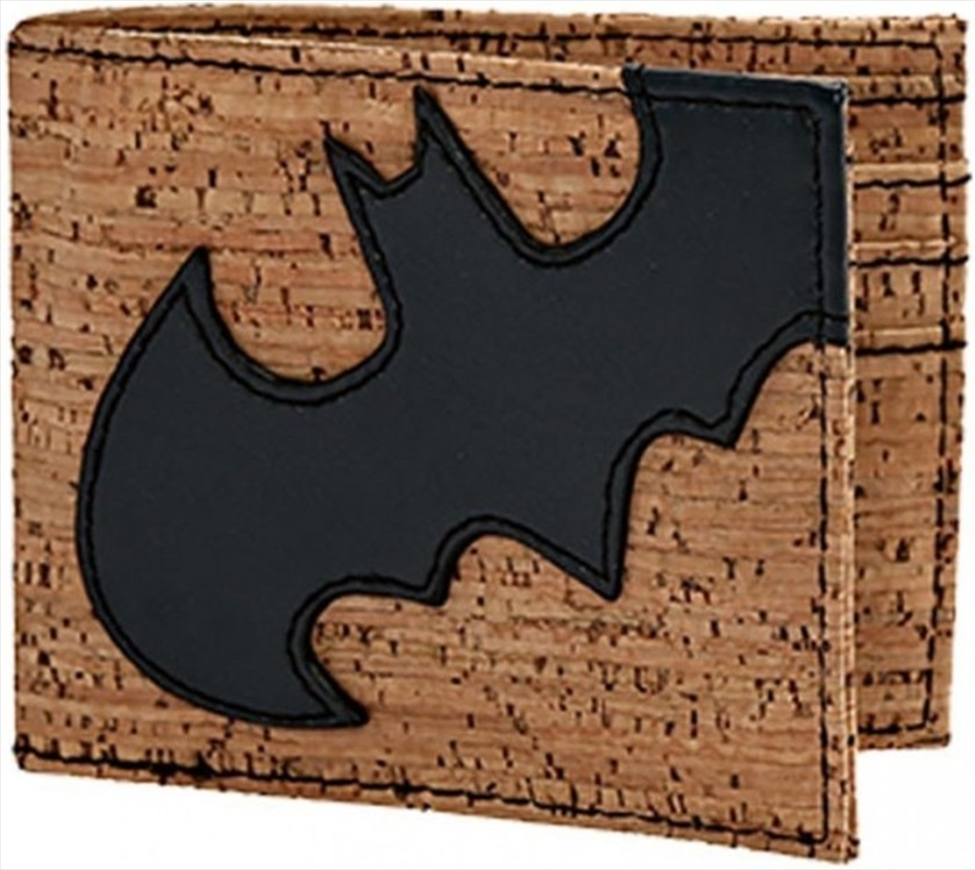 Batman Cork & Applique Bi-fold Wallet | Apparel