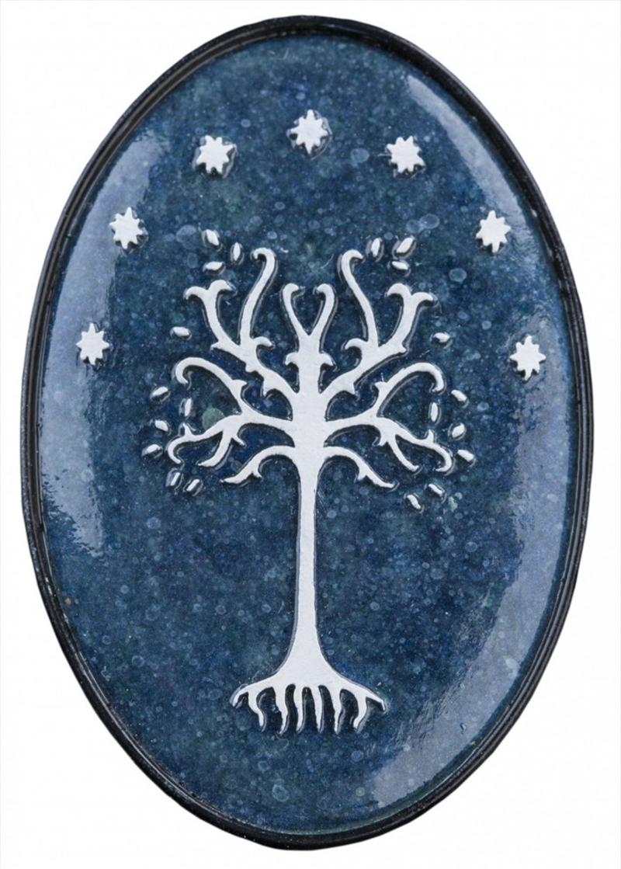 Lord of the Rings Fridge Magnet White Tree of Gondor (Plastic) | Merchandise