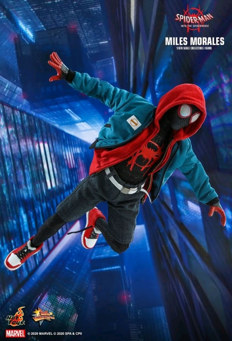 """Spider-Man: Into the Sider-Verse - Miles Morales 1:6 Scale 12"""" Action Figure 