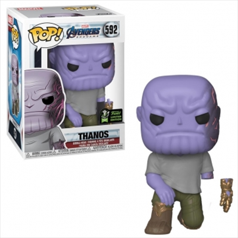 Avengers 4 - Thanos w/Magnet Arm Pop! EC20 RS | Pop Vinyl