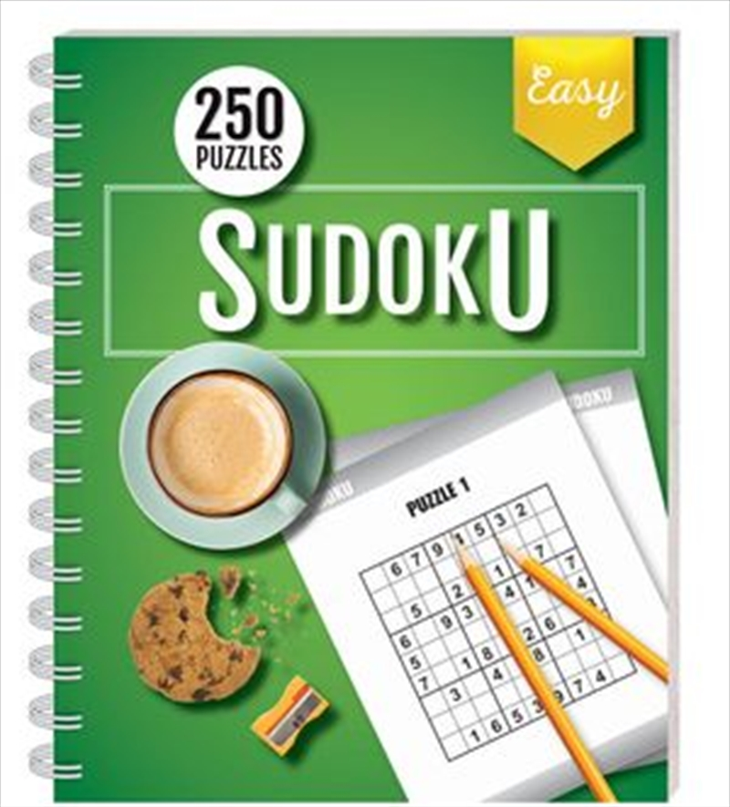 250 Puzzles Sudoku Easy (spiral bound) | Books