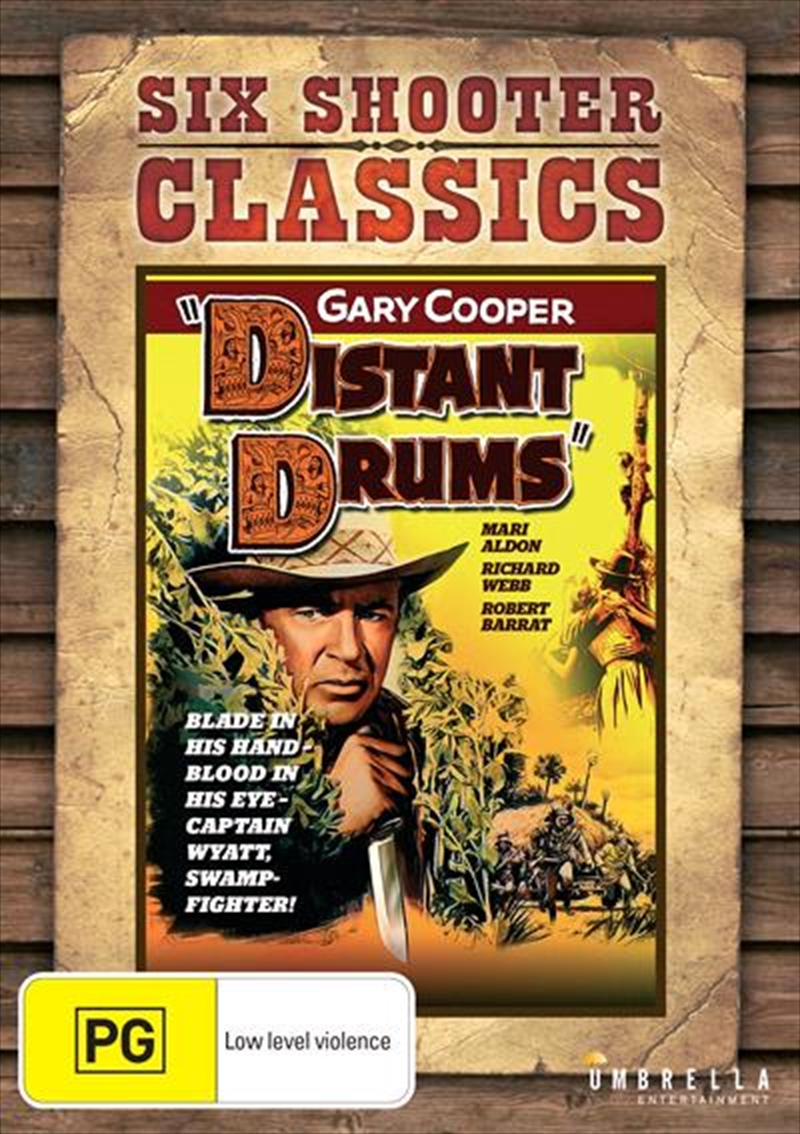 Distant Drums | Six Shooter Classics | DVD