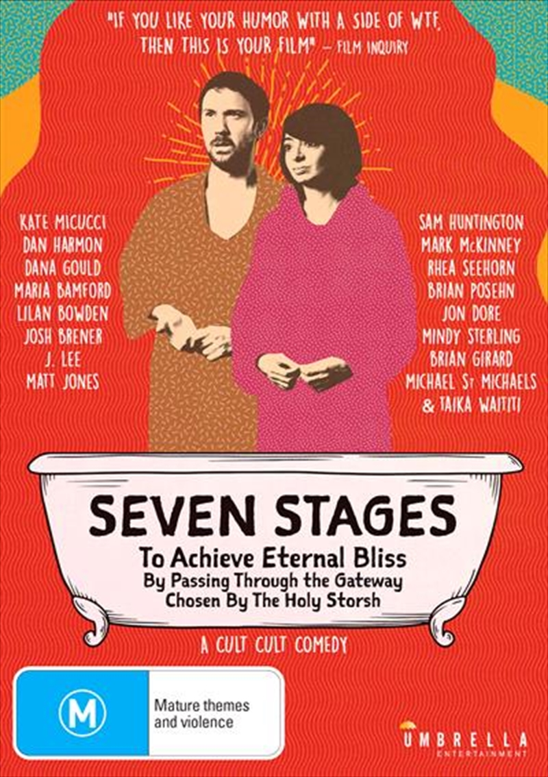 Seven Stages To Achieve Eternal Bliss By Passing Through The Gateway Chosen By The Holy Storsh | DVD