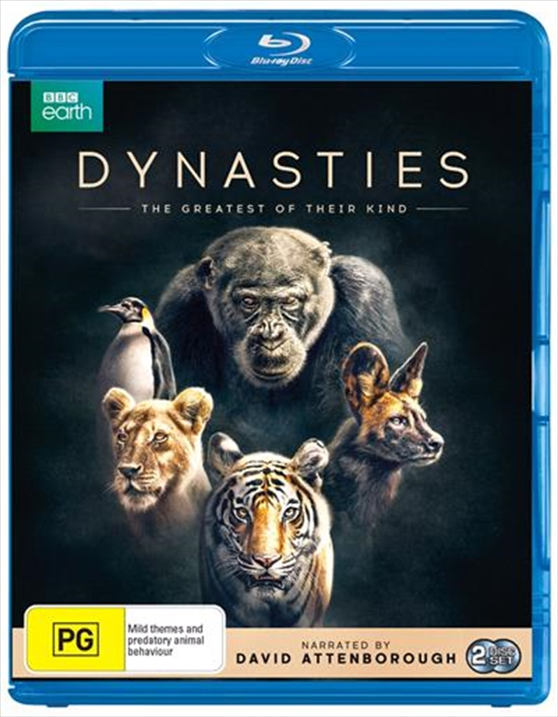 Dynasties   Blu-ray