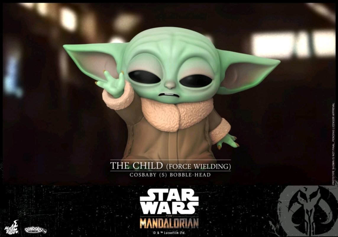 Star Wars: The Mandalorian - The Child Force Wielding Cosbaby | Merchandise