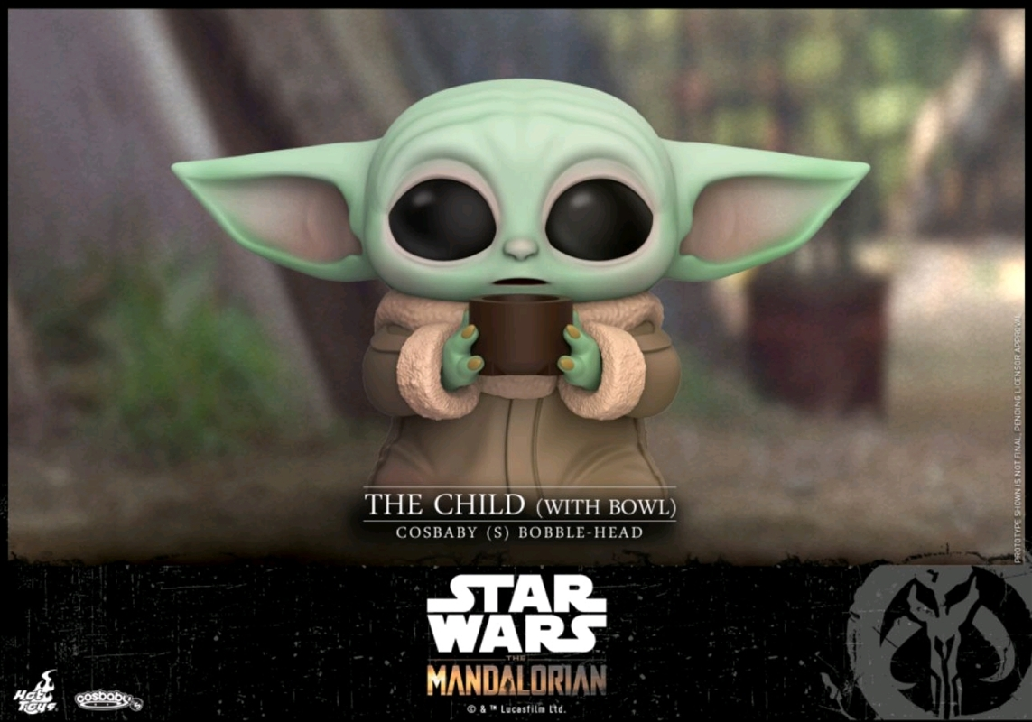 Star Wars: The Mandalorian - The Child with Bowl Cosbaby   Merchandise