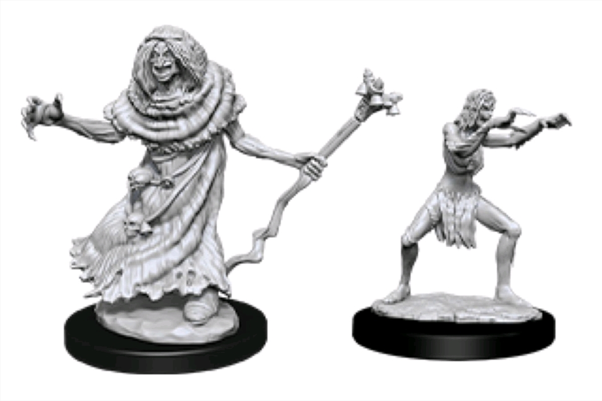 Dungeons & Dragons - Nolzur's Marvelous Unpainted Minis: Sea Hag & Bheur Hag | Games