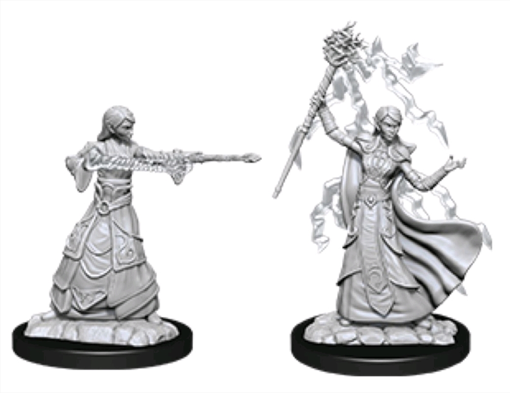 Dungeons & Dragons - Nolzur's Marvelous Unpainted Minis: Female Elf Wizard | Games