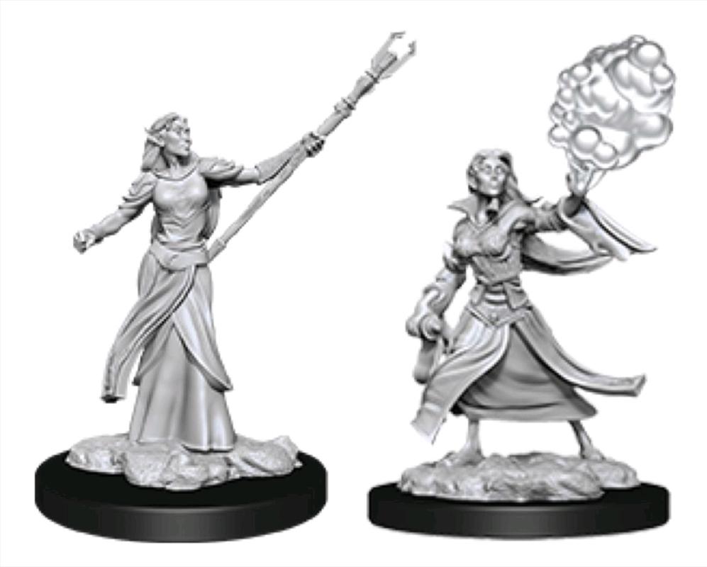 Dungeons & Dragons - Nolzur's Marvelous Unpainted Minis: Female Elf Sorcerer   Games