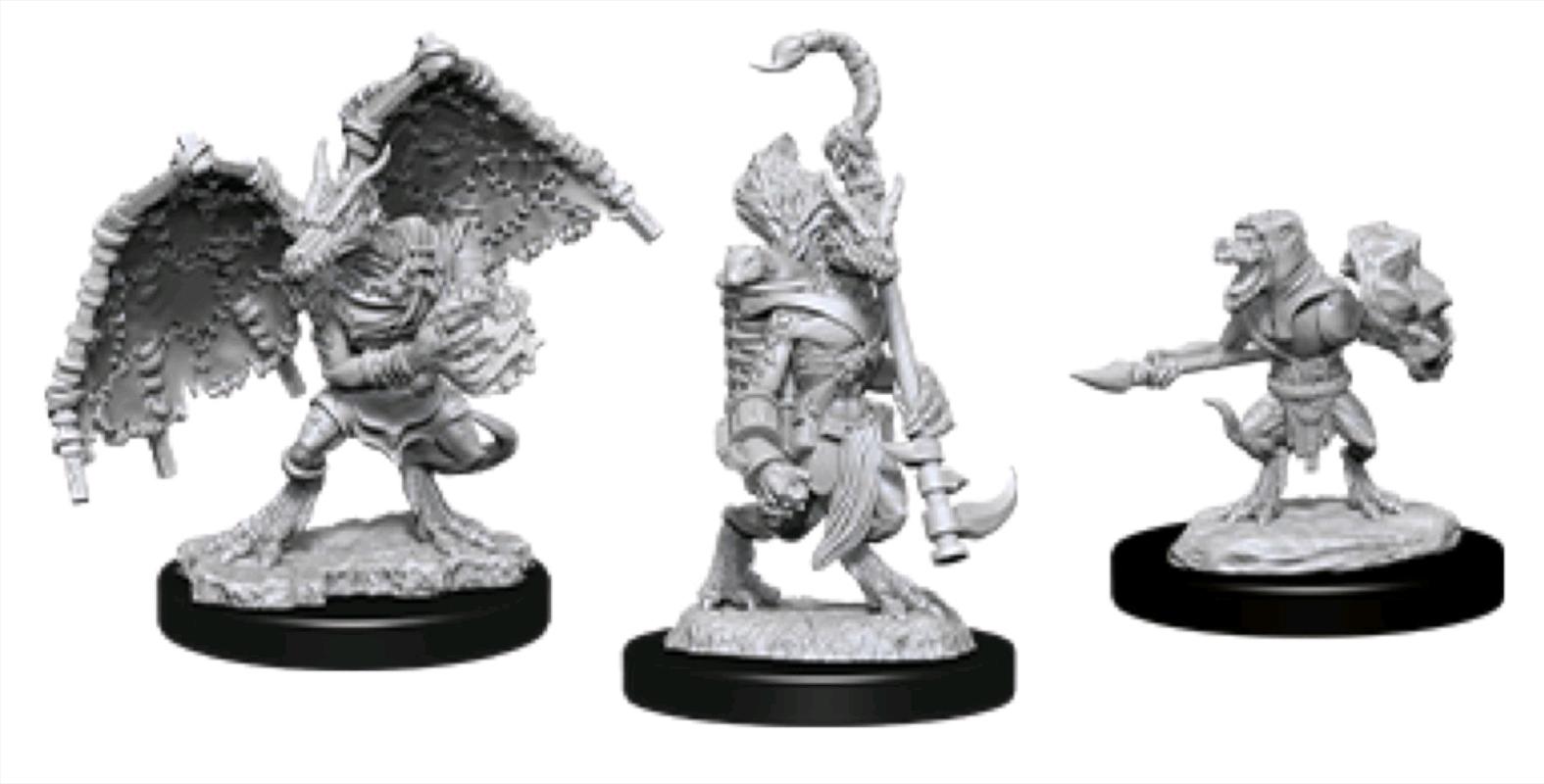 Dungeons & Dragons - Nolzur's Marvelous Unpainted Mini: Kobold Inventor, Dragonshield & Sorcerer | Games