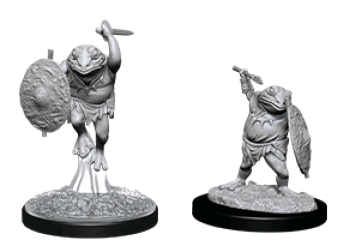 Dungeons & Dragons - Nolzur's Marvelous Unpainted Minis: Bullywug | Games