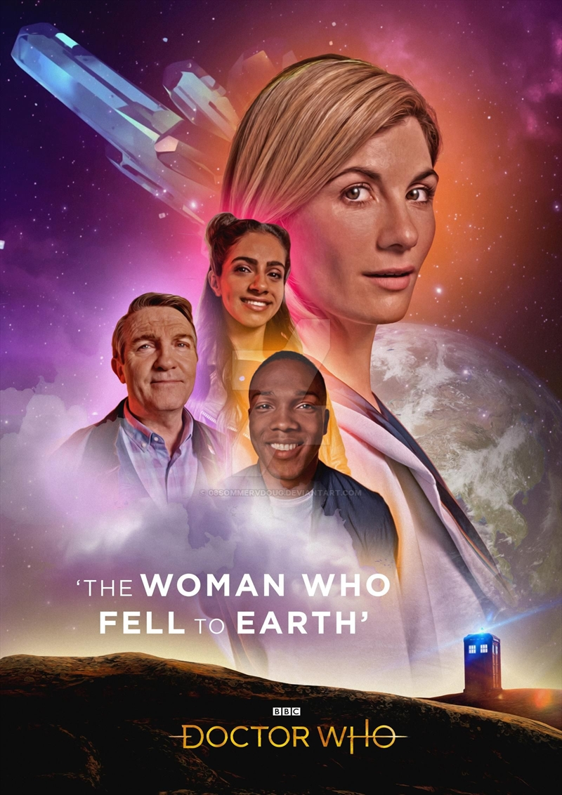 Doctor Who - The Woman Who Fell To Earth | DVD