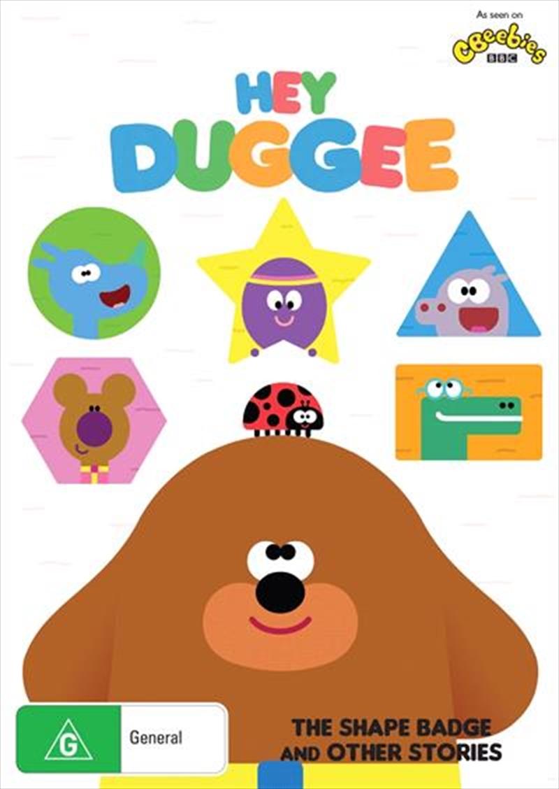 Hey Duggee - The Shape Badge   DVD