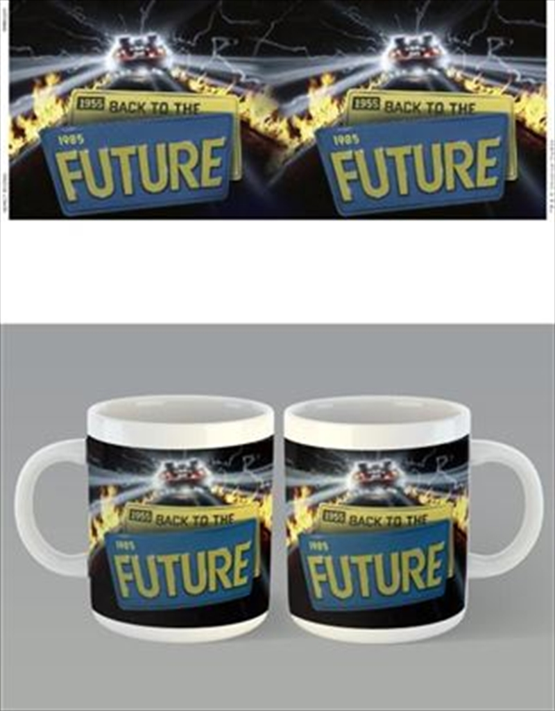 Back To The Future - License Plates | Merchandise