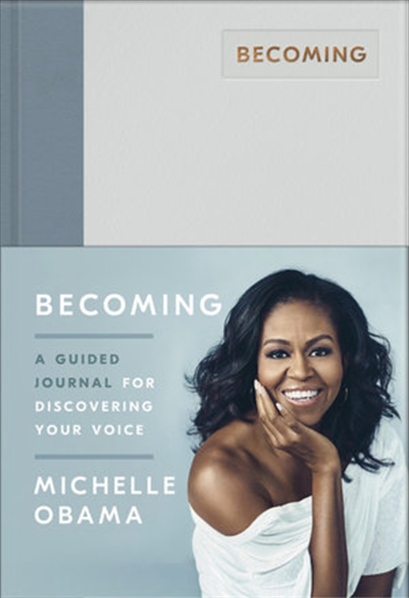 Becoming - A Guided Journal for Discovering Your Voice   Hardback Book