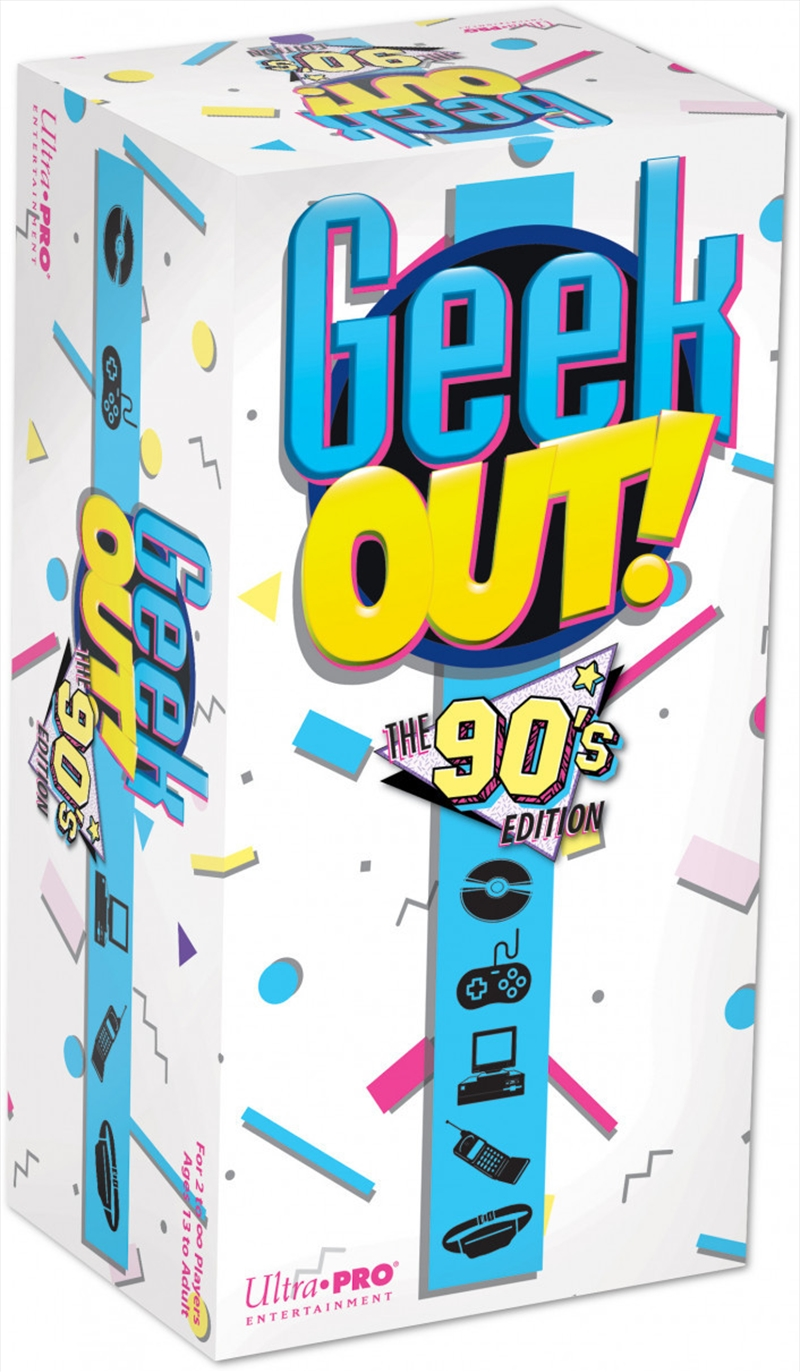 Geek Out! 90s Edition   Merchandise